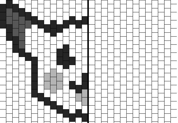 Pixel art sym trie orthogonale un monde meilleur - Symetrie a imprimer ...